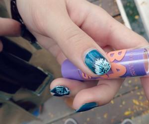 nail art, nails, and baby lips image
