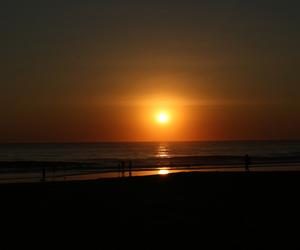 beach, playa, and sea image