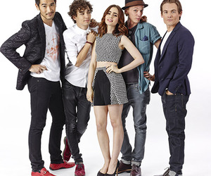 the mortal instruments, lily collins, and Kevin Zegers image