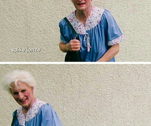 funny, granny, and heart it image