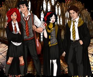 disney, ariel, and snow white image