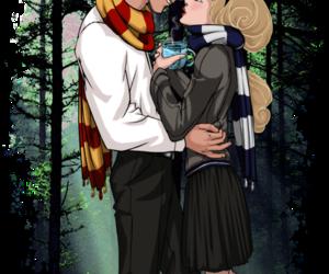 disney, aurora, and hogwarts image