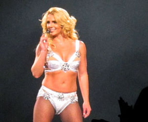 blonde, britney spears, and femme fatale image