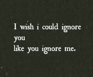 ignore, wish, and you image