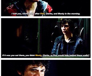 the 100, bellarke, and love image