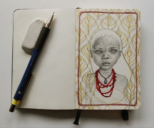 africa, art, and drawing image
