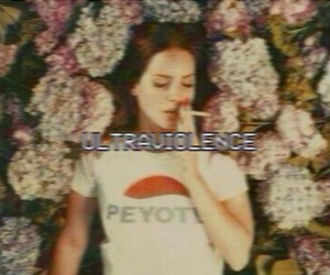 ultraviolence and lana del rey image