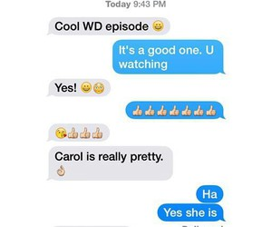 funny, Relationship, and twd image
