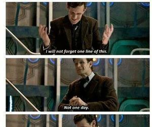 doctor who, eleven, and tardis image