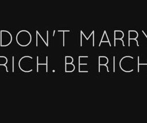 future, marry, and rich image