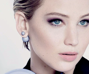 Jennifer Lawrence and dior image