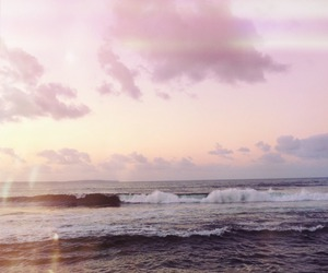 sea, beach, and indie image