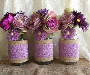 decoration, jar, and rustic image