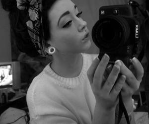 girl, piercing, and sugarhaus image