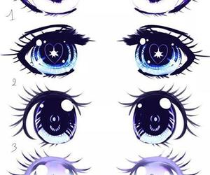 eyes, anime, and manga image