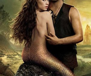 jack sparrow, pirates of the caribbean, and mermaids image