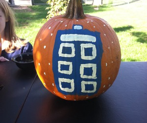 autumn, pumpkin, and doctor who image