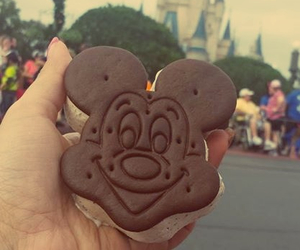 castle, chocolate, and disney image
