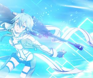 shino, sao2, and sword art online2 image