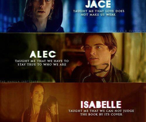 jace, alec, and clary image