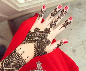 henna, nails, and art image