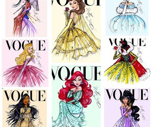 princess, vogue, and disney image