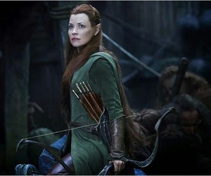 tauriel, the hobbit, and elf image