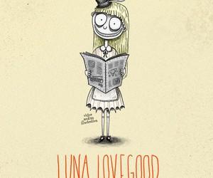 luna lovegood, harry potter, and tim burton image