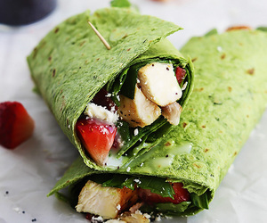 food and wraps image