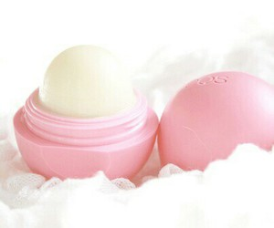 eos, pink, and lipstick image