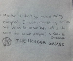 the hunger games, book quote, and mockingjay image