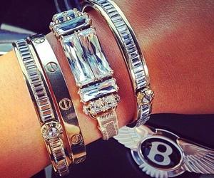 bracelet, girl, and luxury image