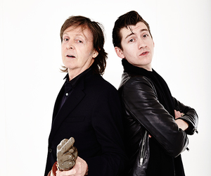alex turner, Paul McCartney, and music image