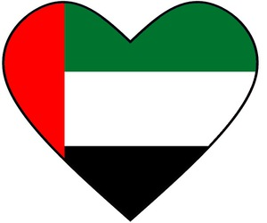 heart, قلب, and united arab emirates image