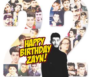 birthday, happy birthday, and zayn malik image