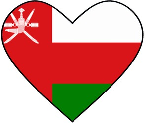 heart, قلب, and oman image