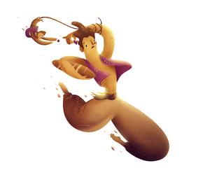 aladdin, design, and illustration image