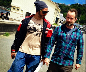 Dominic Monaghan, billy boyd, and lotr cast image