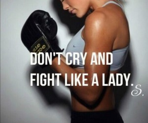 fight, cry, and girl image