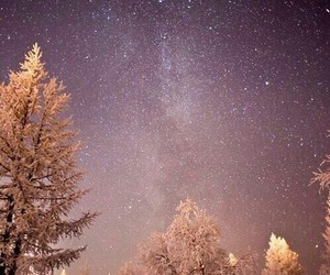 christmas, winter, and night image