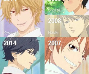 lovely complex, anime, and kimi ni todoke image