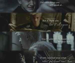 draco malfoy, harry potter, and innocent image