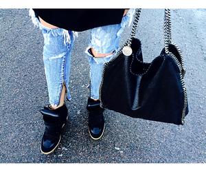 bag, fashion, and Isabel marant image
