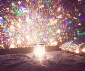 light, Dream, and bed image