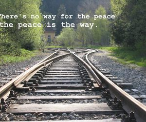 letters, peace, and way image