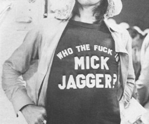 Keith Richards, mick jagger, and black & white image