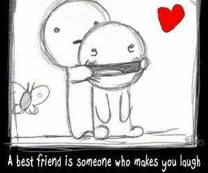best friend, smile, and love image