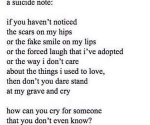 sad and suicide image