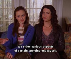 gilmore girls, lorelai, and rory image