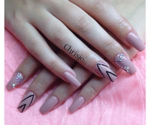 design, diamonds, and nails image